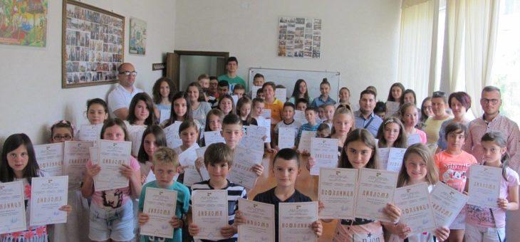 Доделување на дипломи на над 200 деца