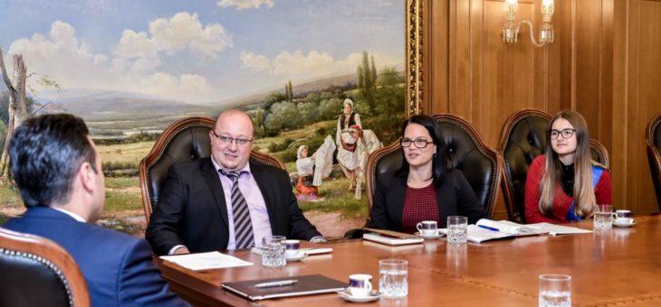 Детската Амбасада за Сите Деца во Светот средба со Претседателот на Владата на Република Македонија Г-дин Зоран Заев